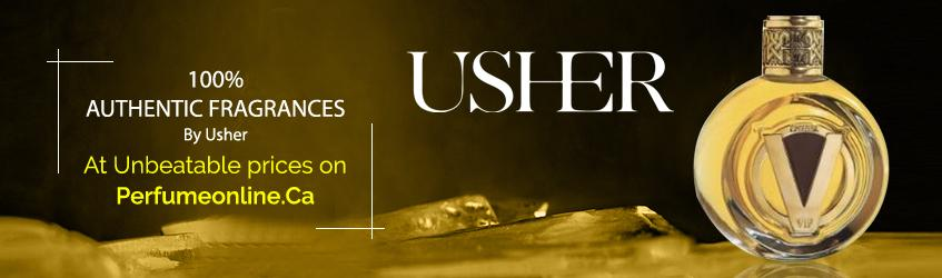 Usher Perfumes and Colognes