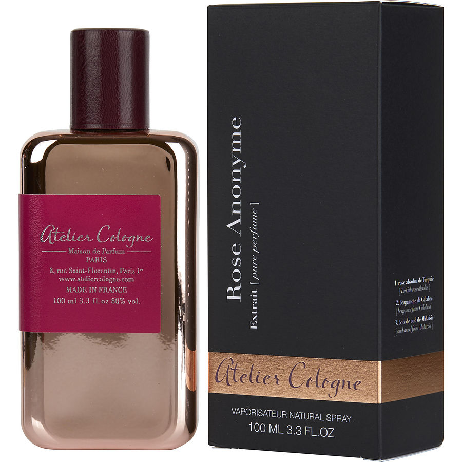 Rose Anonyme Extrait by Atelier Cologne