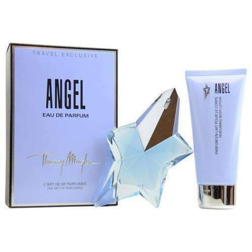 ANGEL BY THIERRY MUGLER 2PC 50ML EDP + 100ML BL TRAVEL