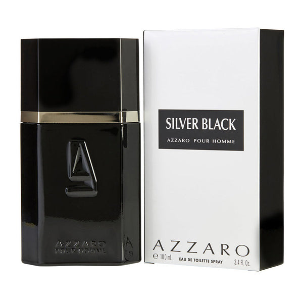 Azzaro Silver Black Men EDT