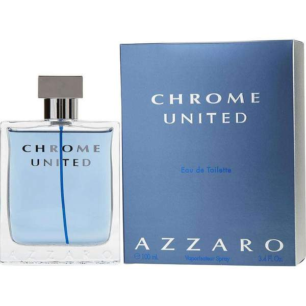 Azzaro Chrome United for Men Edt