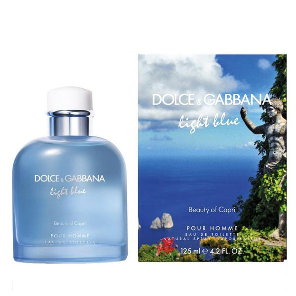 D&G Light Blue Capri Cologne for Men by Dolce & Gabbana