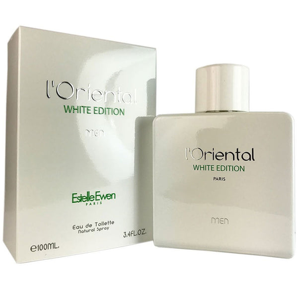 L'Oriental White Edition Cologne for Men by Estelle Ewen