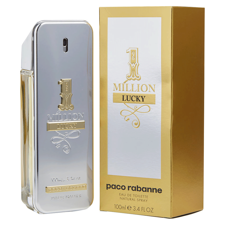 Perfumeonline ca Canada For – Lucky Paco Men In One Rabanne By Cologne Million kP8nO0w