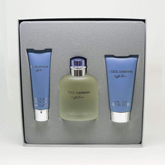 D&G Light Blue Cologne Gift Set for Men