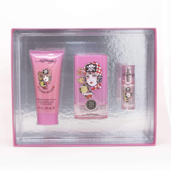 Ed Hardy Born Wild Perfume Gift Set for Women