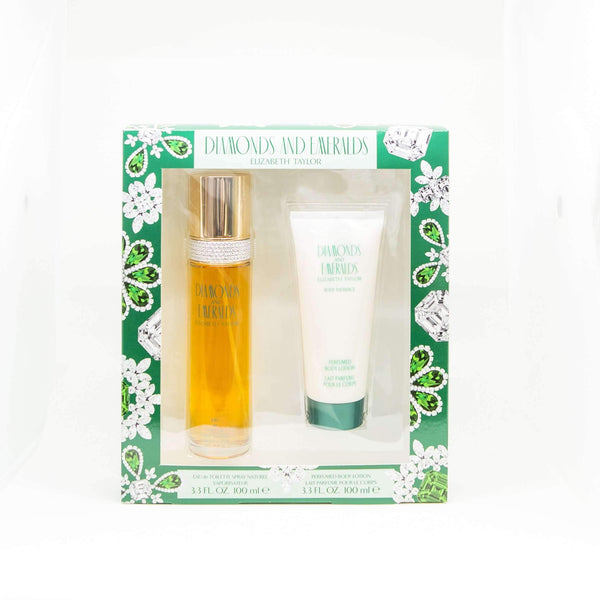 Diamonds and Emeralds Perfume Gift Set for Women