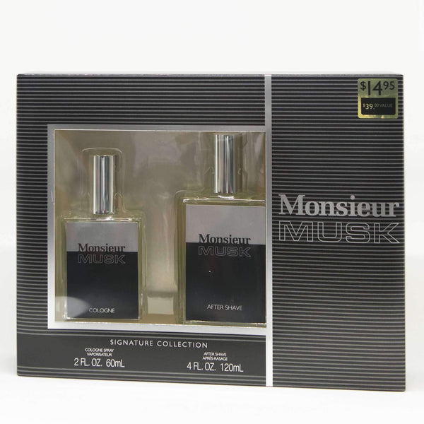 Monsieur Musk Cologne Gift Set Men