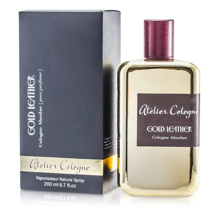 Gold Leather Cologne Absolue by Atelier Cologne