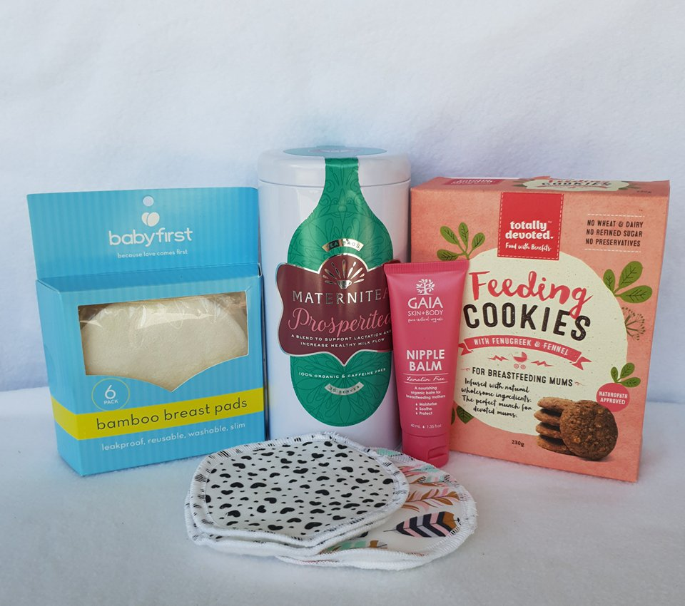 Breastfeeding gift box for new mum