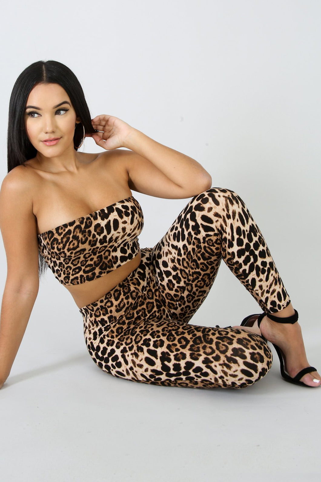 Kitty Kat Cheetah Set