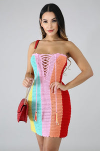 Sunset Knit Dress