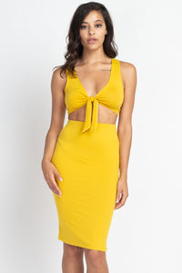 Mrs.Parker Front Tie Set (MORE COLORS AVAILABLE)