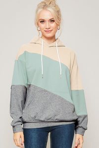 Chill Out Colorblock Hoodie