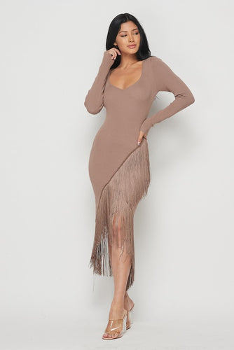 Dance With Me Fringe Dress