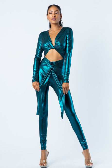 Mila Emerald Jumpsuit