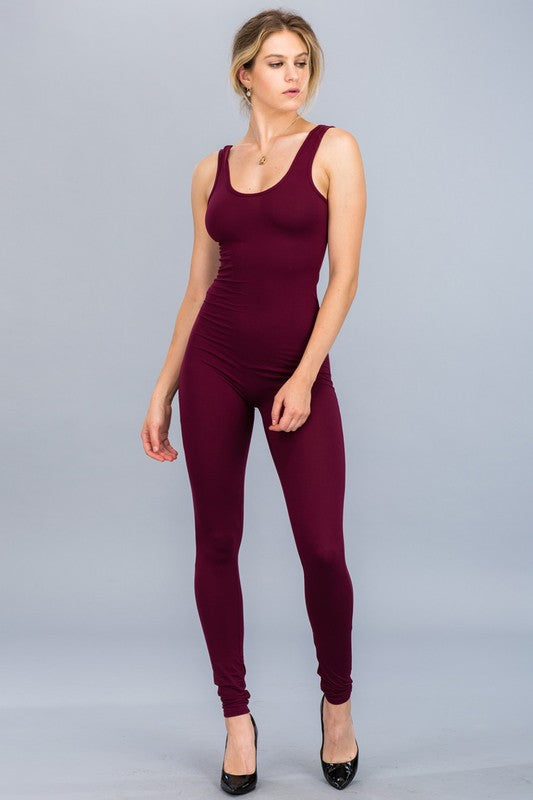 Baily Bodycon Tank Jumpsuit