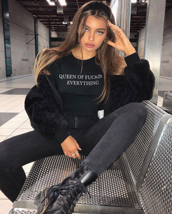 QUEEN of f**ckin EVERYTHING Tee