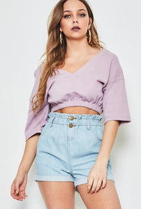 Kimberly Off The Shoulder Sweater Top