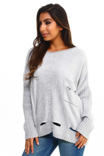 Load image into Gallery viewer, Crazy Comfy Oversized Sweater