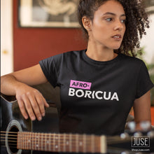 Load image into Gallery viewer, AFRO Boricua T-shirt