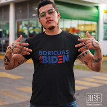 Load image into Gallery viewer, Boricuas Con BIDEN T-Shirt
