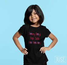 Load image into Gallery viewer, Sorry Boys, Papi Said No Novios T-Shirt (Infants, Toddlers & Youth)