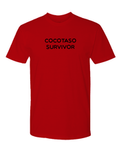 Load image into Gallery viewer, Cocotaso Survivor T-shirt (unisex)