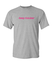 Load image into Gallery viewer, deep thinker Tee (unisex)