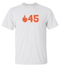 Load image into Gallery viewer, Fuck 45 (unisex T-shirt)