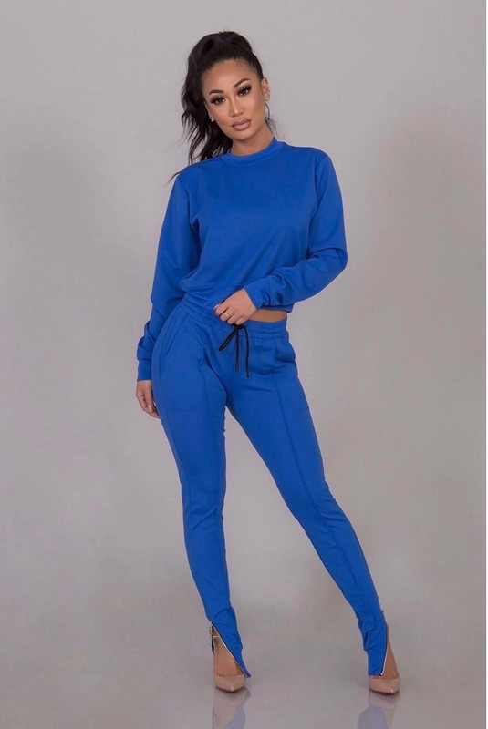 Bianca Blue Jogger Set