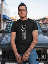 Load image into Gallery viewer, Puerto Rican's For #BlackLivesMatter T-shirt (unisex)