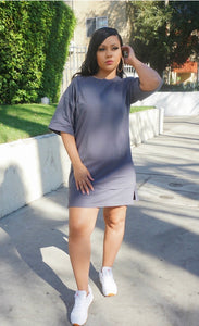 Ye Grey T-shirt Dress