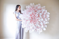 giant paper flower 1.2m diameter
