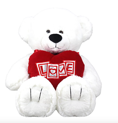 """Love you lots"" Bear 25cm"