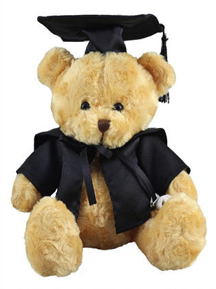 graduation bear toy