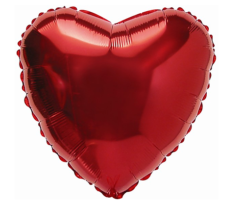 red heart balloon Valentines day