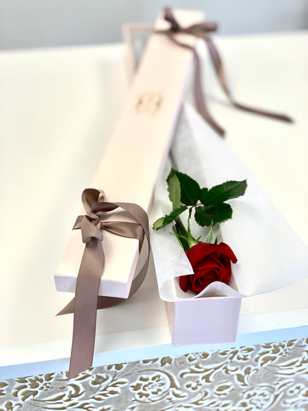 Premium One Rose in box