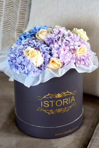 Hydrangea Mix in Box (no vase included)
