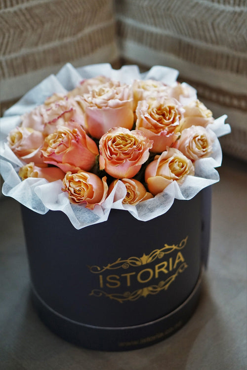 peach roses auckland delivery