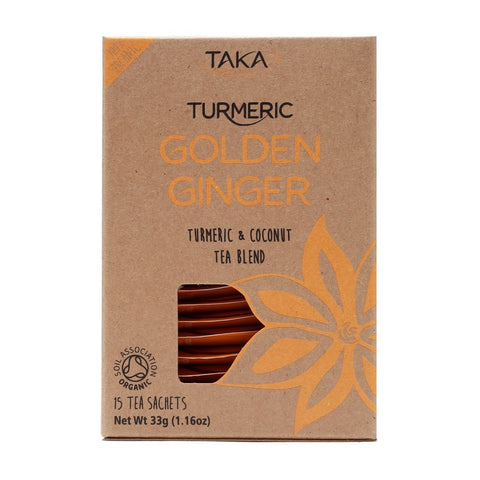 Golden Ginger Tea 15 Sachet