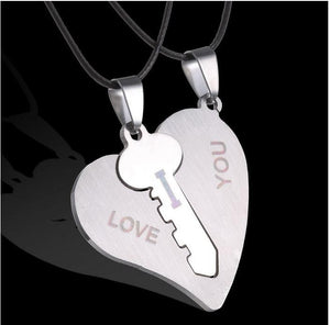 Lovers Necklace (2 piece)