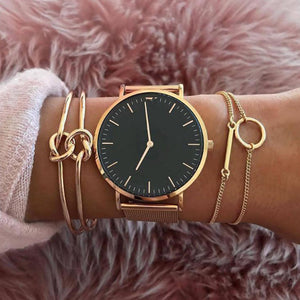Gold Wrap Bracelet (watch not included)