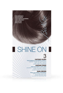 SHINE ON Hair Colouring Treatment (3 - Dark Brown)