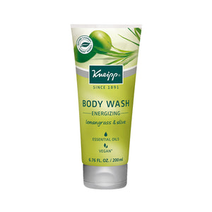 Lemongrass & Olive Body Wash (Energizing)