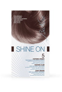 SHINE ON Hair Colouring Treatment (5 - Light Brown)