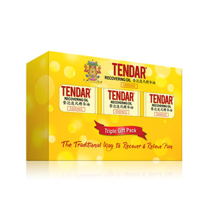 Tendar Recovering oil (3 in 1 Value pack)