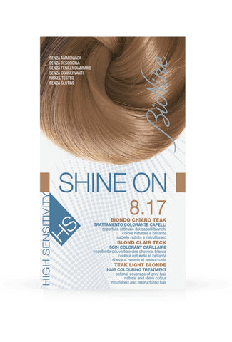SHINE ON HS Hair Colouring Treatment (8.17 - Teak Light Blonde)