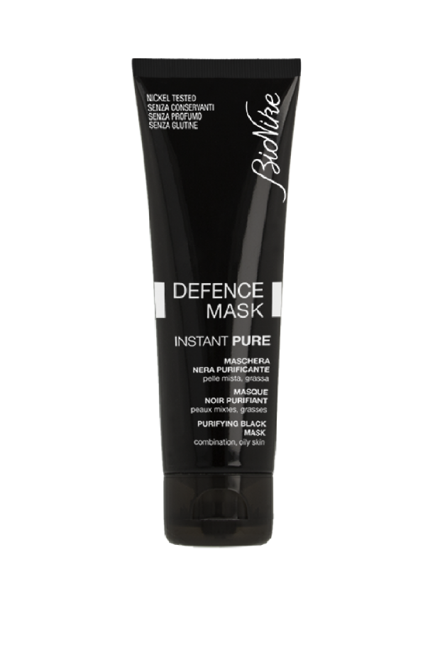 DEFENCE MASK Instant Pure - Purifying Black Mask