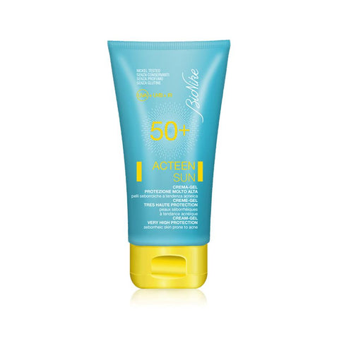 ACTEEN DEFENCE SUN 50 + cream - gel very high protection (Seborrheic skin prone to acne)